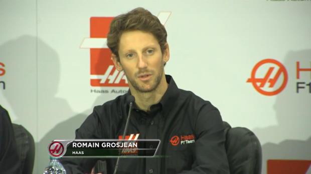 """F1 - Grosjean: """"Haas puntuar� desde el principio"""""""