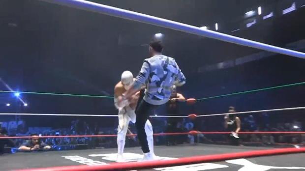Lewis Hamilton: Irre Wrestling-Show in Mexiko