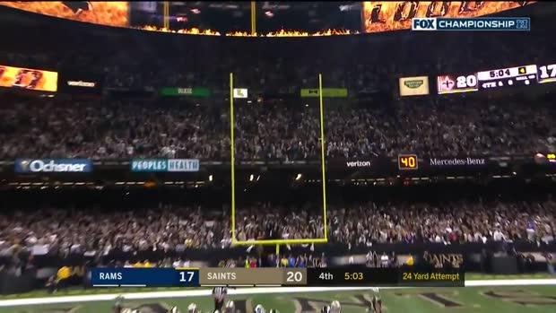 Every Greg Zuerlein FG from huge day vs. Saints | NFC Championship Game