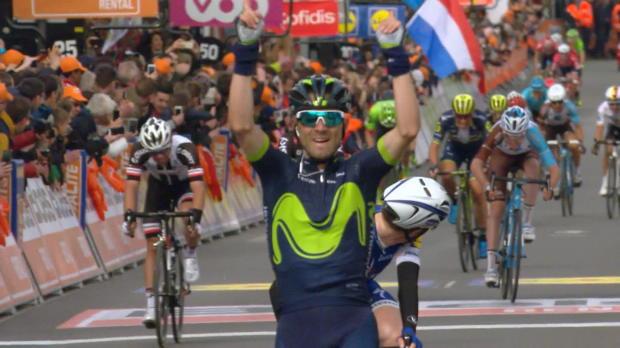Lieja-Bastoña-Lieja: Valverde sigue en la cresta de la ola... ¡Cuarta victoria en Lieja!