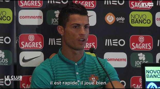 Quand Ronaldo encense Varane