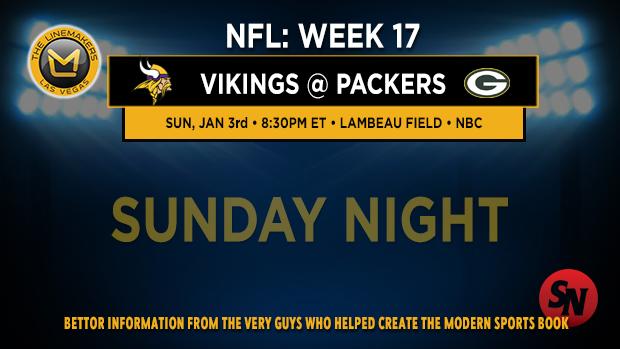 NFL Week 17 Sunday Night