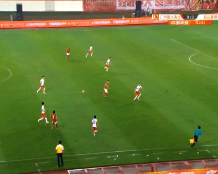 كرة قدم: الدوري الصيني: غوانغجو ايفرغراندي 1-1 يانبيان فوندي