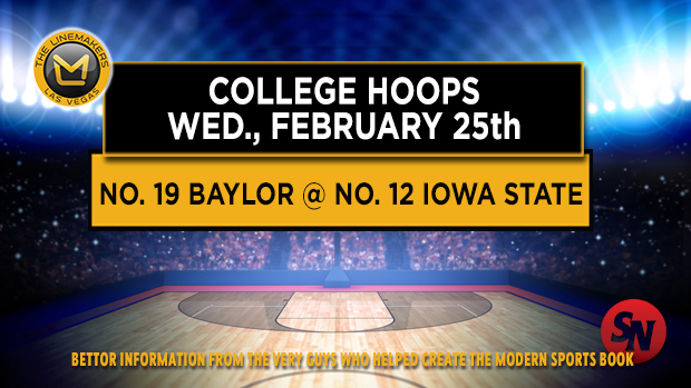 Wednesday: Baylor @ Iowa State