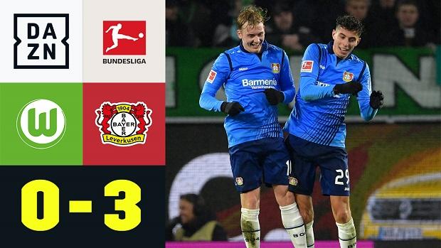 Bundesliga: VfL Wolfsburg - Bayer 04 Leverkusen | DAZN Highlights