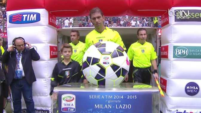 Serie A : AC Milan 3-1 Lazio