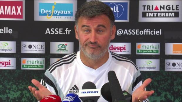 ASSE - Galtier : 'Pas d'�quit� sportive'