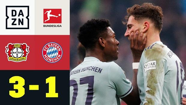 Bundesliga: Bayer 04 Leverkusen - FC Bayern München | DAZN Highlights