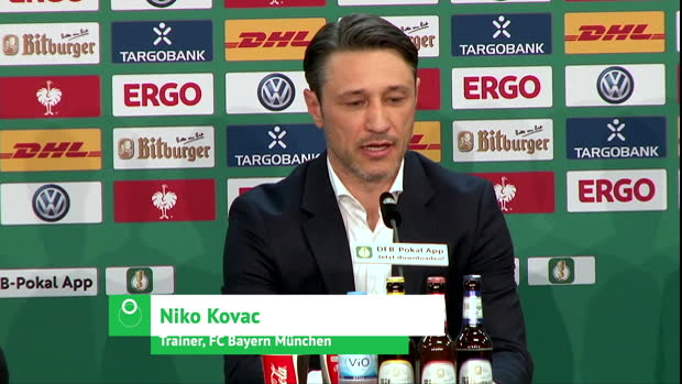 Kovac über seine Person, Neuer und Robbery