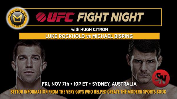 UFC Rockhold Vs. Bisping