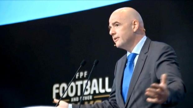 كرة قدم: كأس العالم: إنفانتينو يدافع عن رفع عدد المنتخبات في نهائيات المونديال