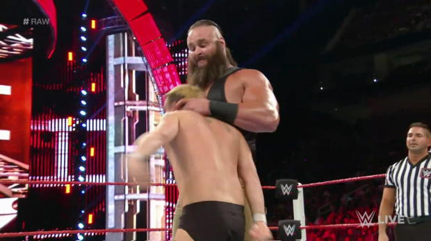 Braun Strowman vs. a local competitor: Raw, July 25, 2016