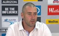 Newcastle Jets coach Clayton Zane says it's great to overcome the hurdle of winning at home again after accounting for the Heart.