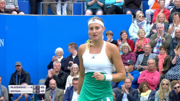 Tennis : Birmingham - Mladenovic sortie par Kvitova