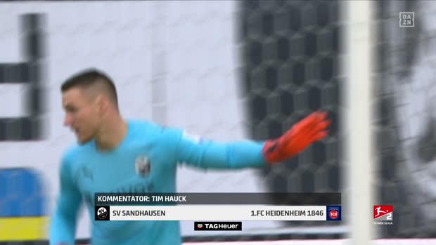 2. Bundesliga: SV Sandhausen - 1. FC Heidenheim 1846 | DAZN Highlights