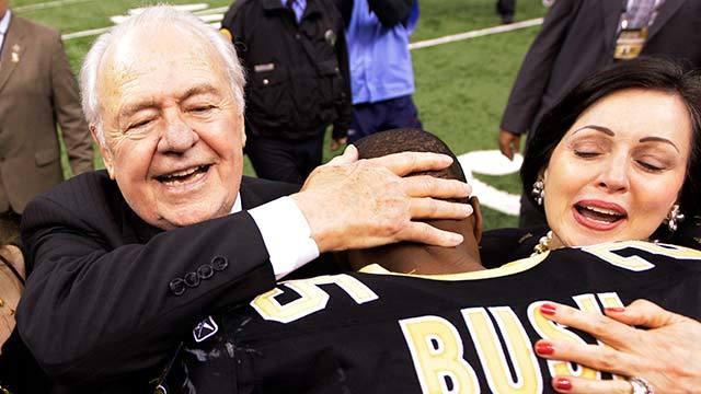 Reggie Bush on Tom Benson: 'He was an amazing ambassador for the city'