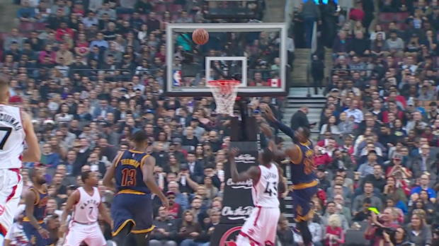 WSC: LeBron James nets 34 points in win over the Raptors