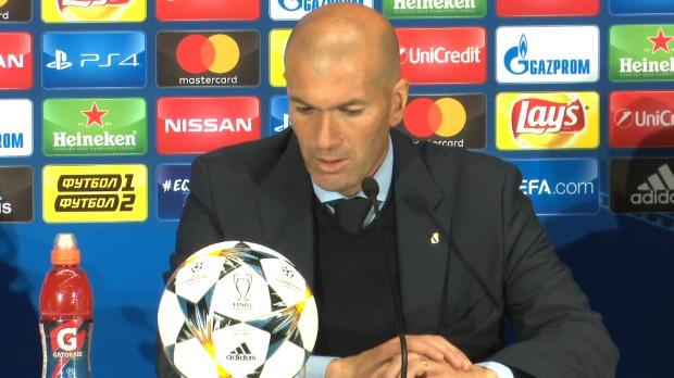 """Zidane: """"Ronaldo muss bei Real Madrid bleiben"""""""