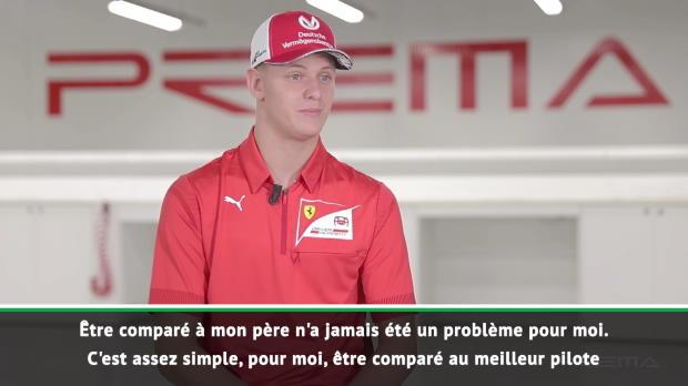 F2 -  Ferrari - Schumacher - 'Être comparé à mon père n'a jamais été un problème pour moi'