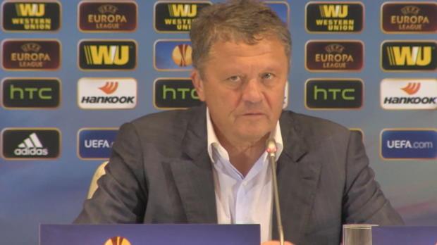 "Dnipro-Coach: ""Finale noch nicht realisiert"""
