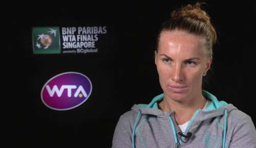 Kuznetsova Interview: WTA Singapore RR
