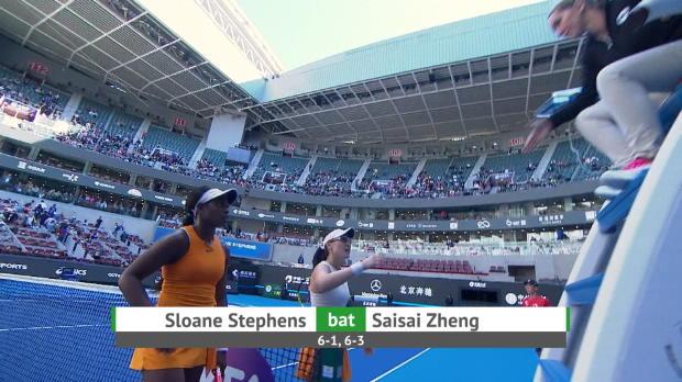 Basket : Pékin - Stephens déroule contre Zheng