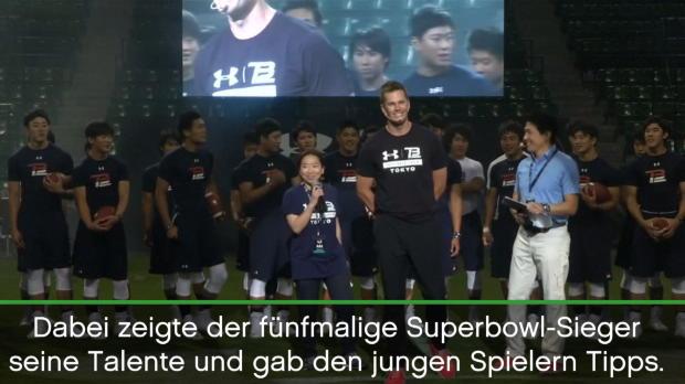 Superstar Brady wünscht sich Japan in der NFL