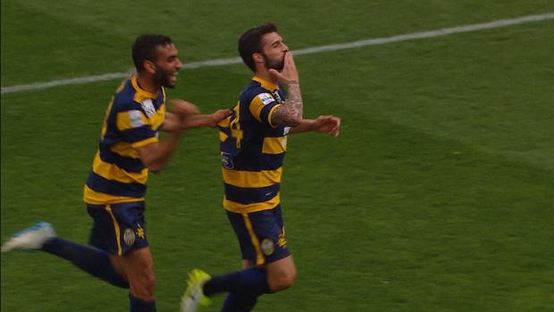 Verona 1-0 Cittadella, Giornata 36 Serie B ConTe.it 2016/17