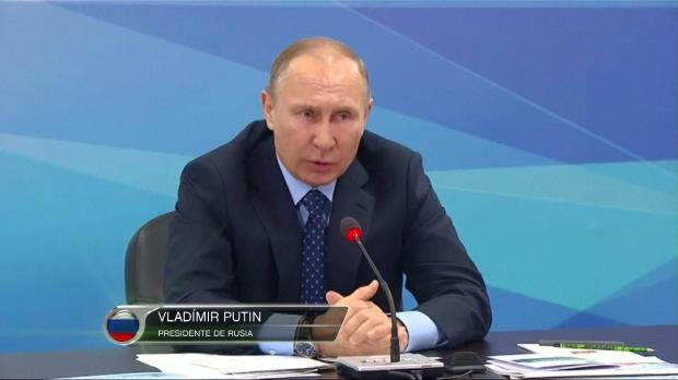 """Putin: """"En Rusia no hay dopaje de estado"""""""