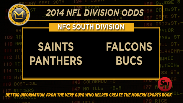 NFC South betting preview