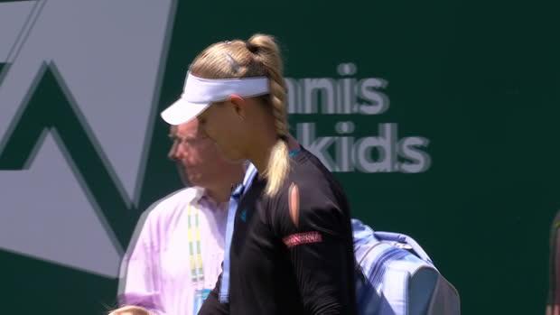 WTA Eastbourne: Kerber - Pliskova | DAZN Highlights