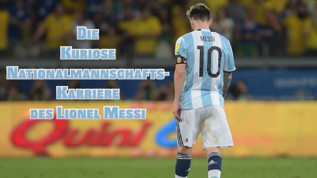 Argentinien: Messis Auf und Ab im Nationalteam