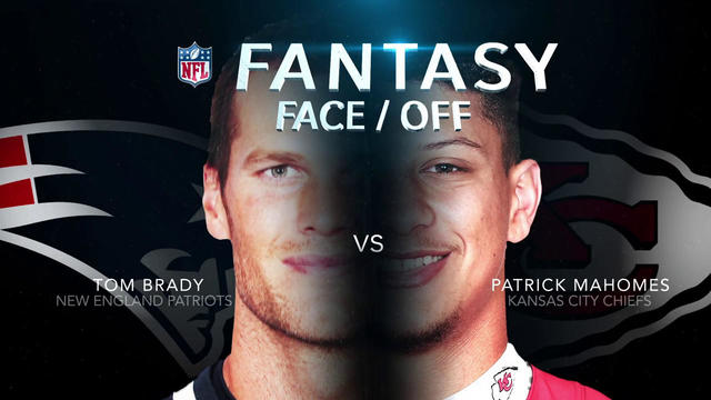 Better fantasy option in Week 3: New England Patriots quarterback Tom Brady or Kansas City Chiefs quarterback Patrick Mahomes?
