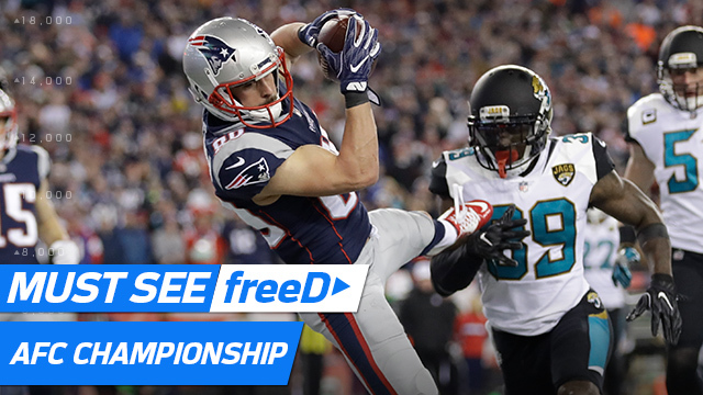 freeD: Top plays from the AFC Championship Game