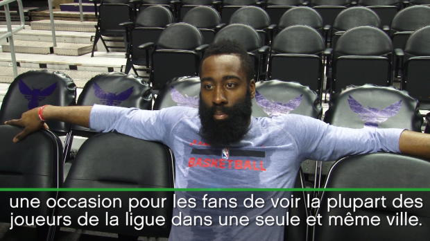 "Basket : NBA - All-Star Game - Harden - ""Un grand honneur"""
