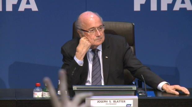 """FIFA: Blatter beinhart! """"Verhaftet wofür?"""""""