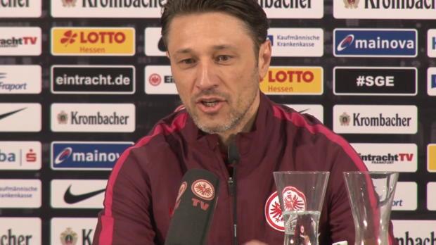 Kovac über den Pokal, Gladbach und die Saison