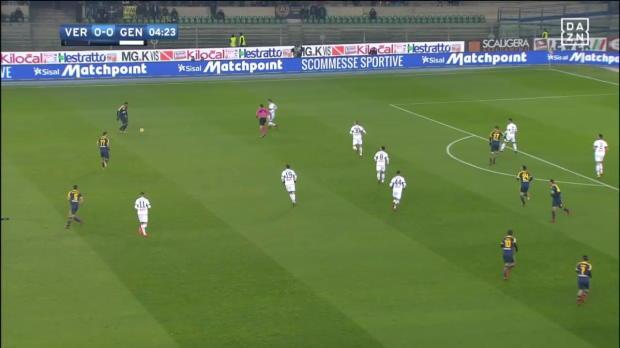 Hellas Verona - Genua