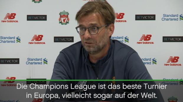 """Klopp: """"Liverpool muss immer in CL spielen"""""""