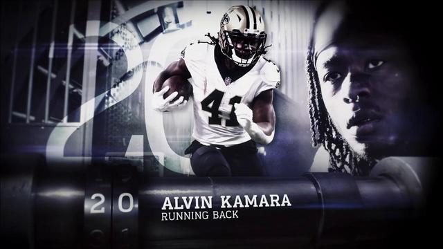 'Top 100 Players of 2018': New Orleans Saints running back Alvin Kamara | No. 20