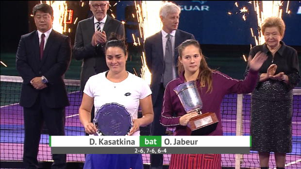 Moscou - Kasatkina renverse Jabeur