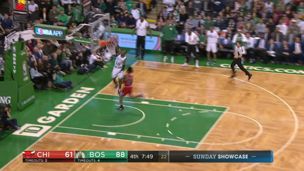 Dunk of the Night - Terry Rozier