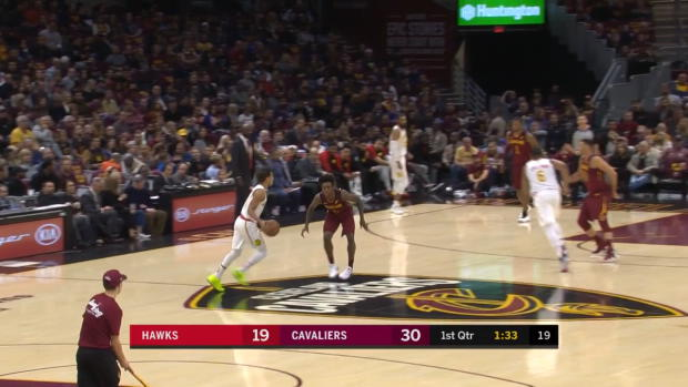 WSC: Trae Young with 35 points in the game vs. Cavaliers