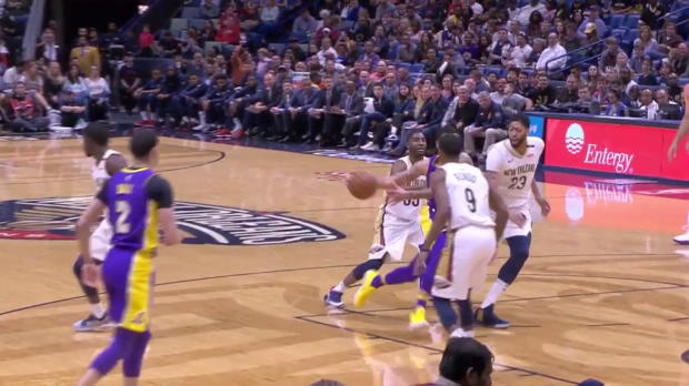 WSC: Anthony Davis (33 points) Highlights vs. Los Angeles Lakers, 03/22/2018