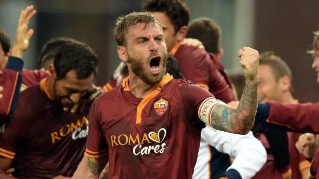 "Foot : LDC - Groupe E, De Rossi : ""La Roma est aussi forte que le Bayern"""