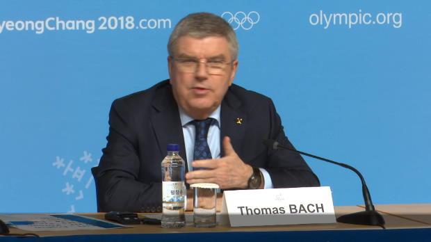 Olympia 2018: Korea vereint! Bach: Wie BRD und DDR