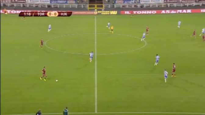 L.Europa : Torino 2-0 HJK Helsinki