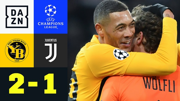 UEFA Champions League: Young Boys - Juventus | DAZN Highlights