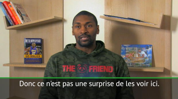 "Basket : Play-offs - World Peace - ""Les celtics n'ont peur de rien"""