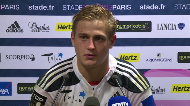Top 14 - 10e j. : Plisson : 'Un groupe qui vit bien'